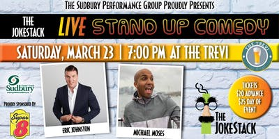 Jokestack - A Night of Comedy starring Eric Johnston & Michael Moses