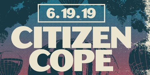Citizen Cope at Iron City (June 19, 2019)