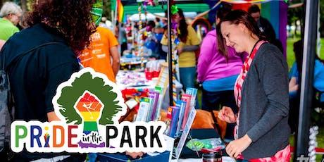 2019 Pride in the Park Vendor Registration tickets