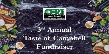 3rd Annual Taste of Campbell Fundraiser tickets