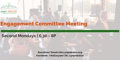 Engagement Committee Meeting