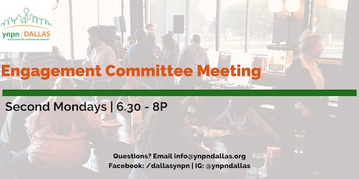 Engagement Committee Meeting