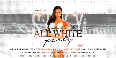 The Sugar Factory presents the 2019 Summer Kickoff All White Party!