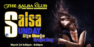 Salsa Sunday Live Music Grupo Rey
