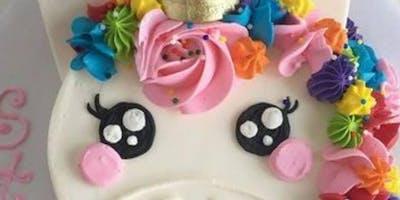 Unicorn Cake Decorationg Class