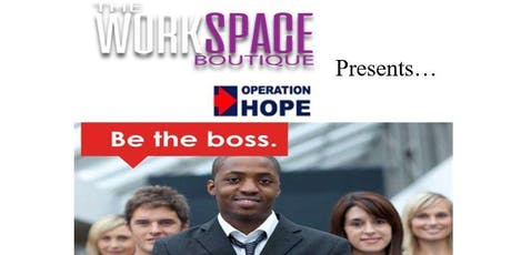 Be The Boss- Free Small Business Workshop tickets