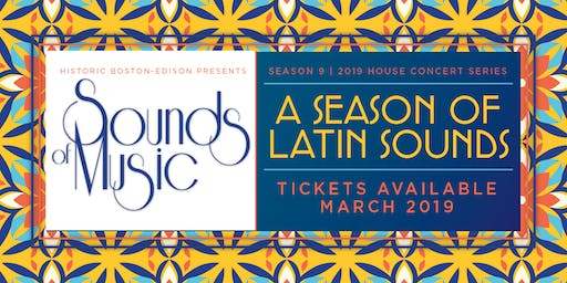 """The 2019 """"Sounds of Music"""" House Concert Series"""
