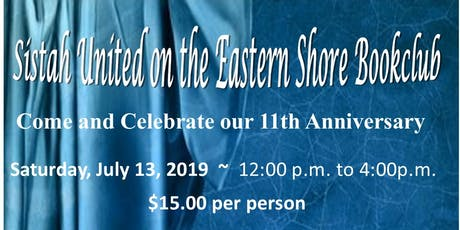 Sistahs United on the Eastern Shore Book Club tickets