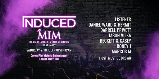 INDUCED LDN IN AID OF MELANOMA UK (MOMENTS INTO MEMORIES) BOAT PARTY
