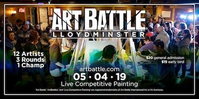 Art Battle Lloydminster - May 4, 2019
