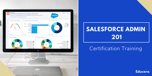 Salesforce Admin 201 Certification Training in Salinas, CA