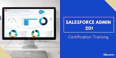 Salesforce Admin 201 Certification Training in Santa Barbara, CA