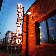 Hot Taco Latin Saturdays logo
