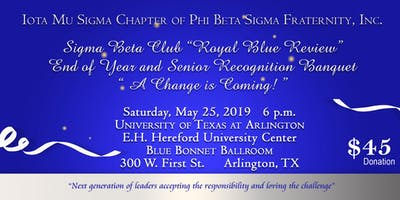"Arlington Sigma Beta Club Presents: ""Royal Blue Review"""