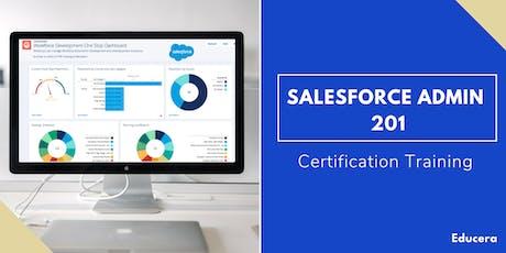 Salesforce Admin 201 Certification Training in Visalia, CA tickets