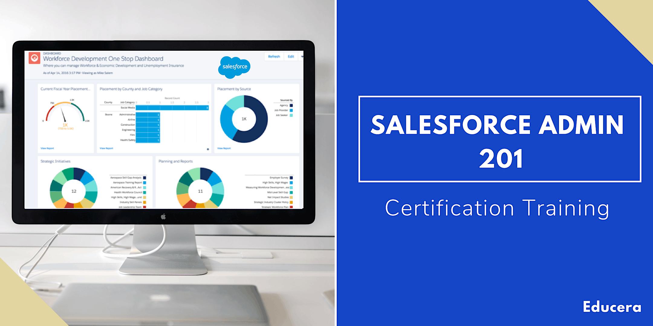 Salesforce Admin 201 Certification Training in West Palm Beach, FL