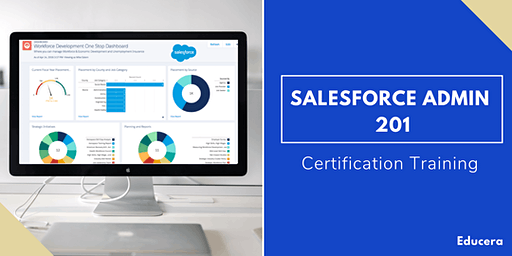 Salesforce Admin 201 Certification Training in York, PA