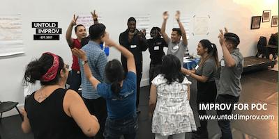 FREE Improv for People of Color Workshop (4/18)