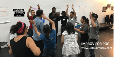 FREE Improv for People of Color Workshop (7/25)