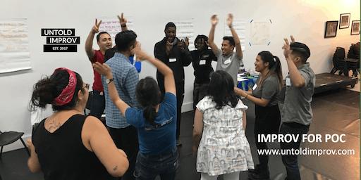 FREE Improv for People of Color Workshop (7/25)