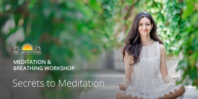 Secrets to Meditation - The Stage Studio (50 Lorne Street)