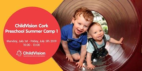 Preschool Summer Camp 1  ChildVision Cork  tickets