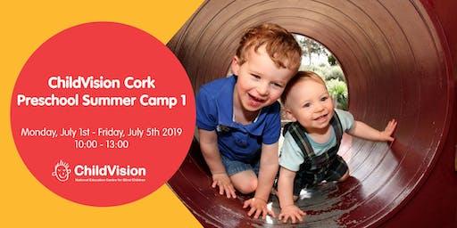 Preschool Summer Camp 1  ChildVision Cork