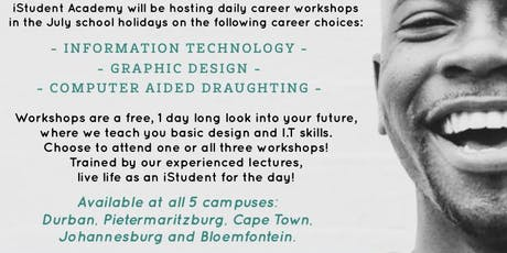 iStudent Academy JHB : I.T Winter Workshops tickets