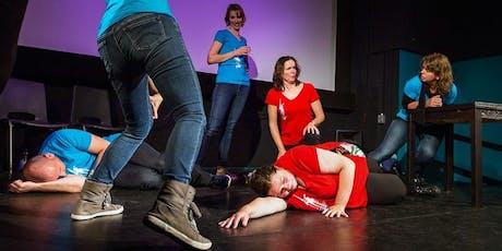 Improvisatietheater Dulcinea Eindhoven, (familie)m tickets