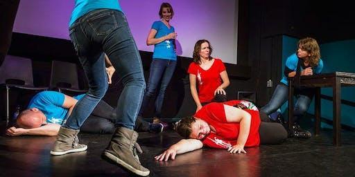 Improvisatietheater Dulcinea Eindhoven, (familie)matinee