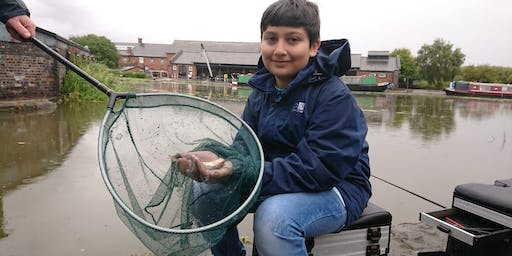 Let's Fish! National Waterways Museum Ellesmere Port- Learn to fish sessions