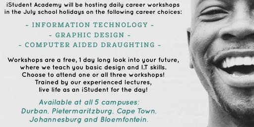 iStudent Academy JHB : Graphic Design Winter Workshops