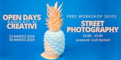 Street Photography - Workshop free