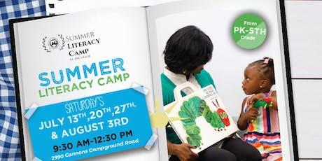 Summer Scholars: Literacy Camp PK-5th Grade tickets
