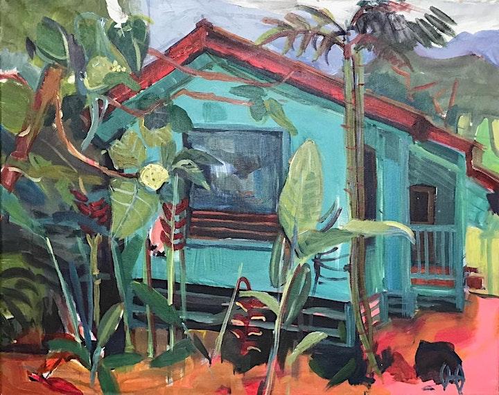 """Ausstellungseröffnung  """"Hawaii"""",Heckmann Höfe: Bild"""