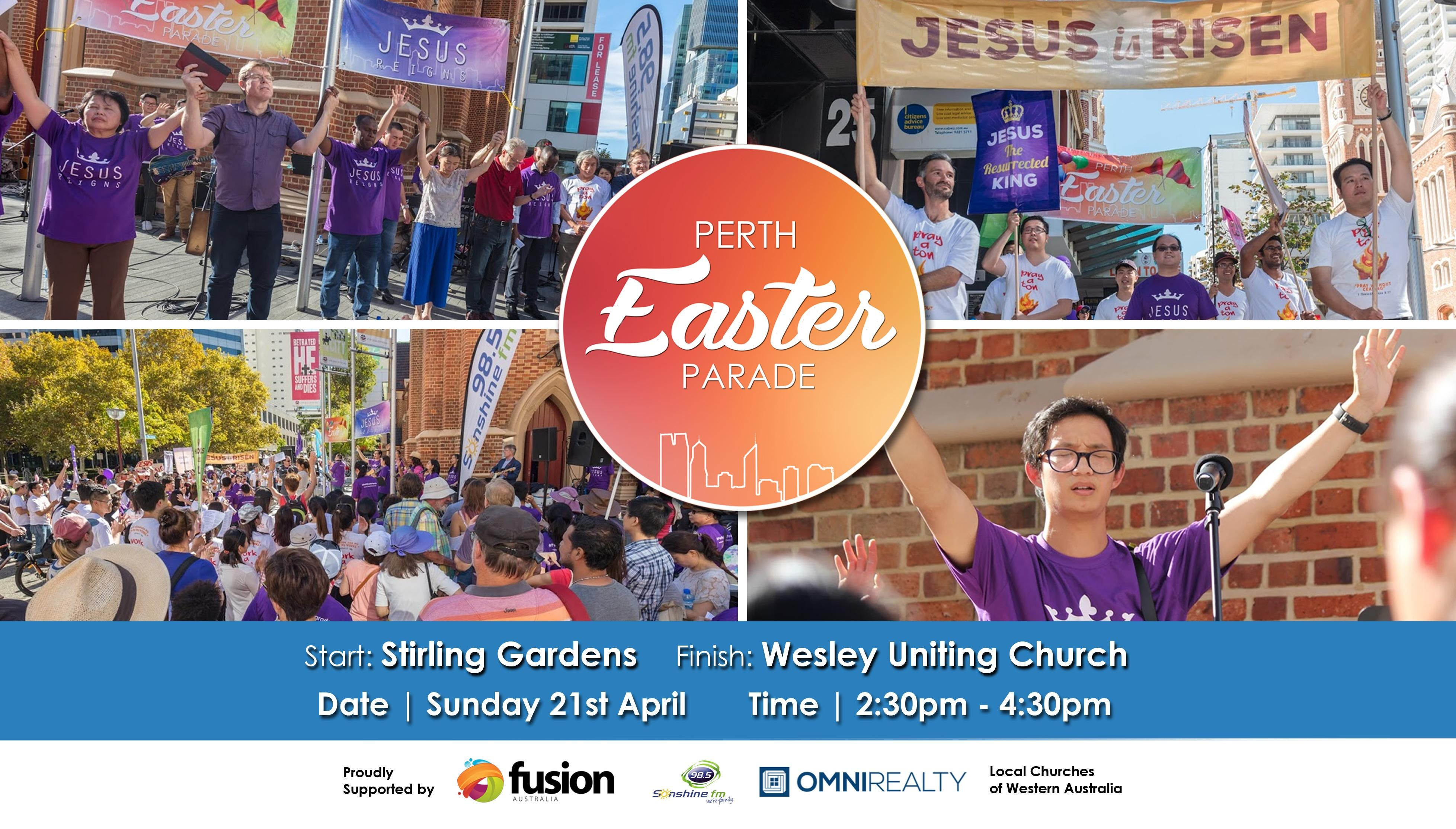 Perth Easter Parade 2019