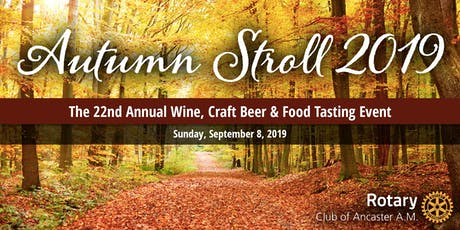 Ancaster Autumn Stroll 2019 tickets