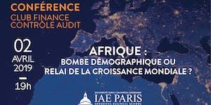 Conférence Club Finance Contrôle-Audit : AFRIQUE :...