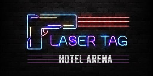 me and all x laser tag hotel arena