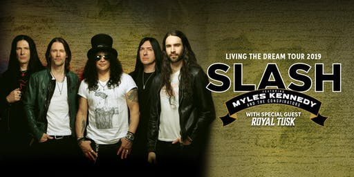 Slash ft. Myles Kennedy & The Conspirators - Living The Dream Tour 19