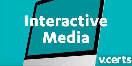 Prepare to Teach - V Cert Level 2 Technical Award in Interactive Media 603/0852/7 (London, 02.07.19) (Event No.201925) tickets