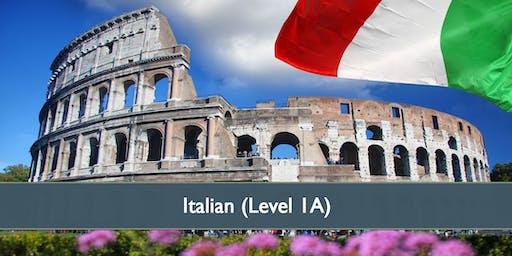 Italian (Level 1A) - April 2019