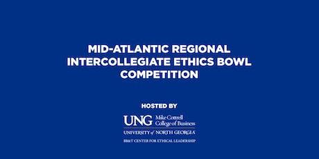 2019 Regional Intercollegiate Ethics Bowl Competition tickets