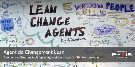 Atelier Agent du changement Lean tickets