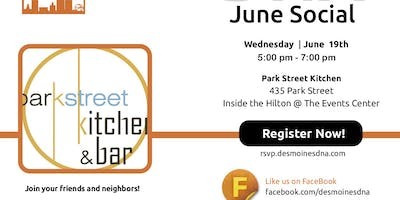 June 2019 Social at Park Street Kitchen & Bar