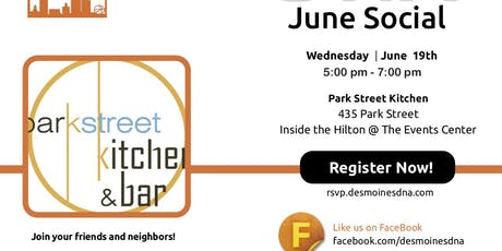 June 2019 Social at Park Street Kitchen & Bar tickets