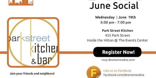 June 2019 Social at Park Street Kitchen & Bar