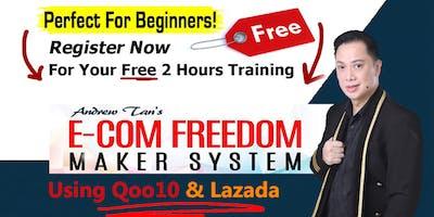 Qoo10 & Lazada Award Winning e-Commerce Business FREE Workshop! LIMITED TIX
