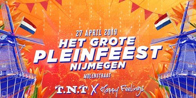 Het Grote Pleinfeest   Koningsdag Nijmegen 2019