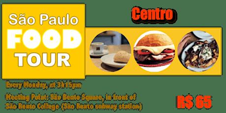 São Paulo FOOD TOUR - Centro tickets
